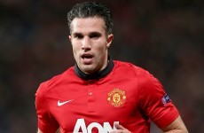 Van Persie to miss Manchester United's Premier League opener