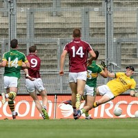 Galway's Thomas Flynn runs from his own half to score wonderful solo goal