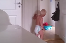 Mum displays infinite patience trying to get her twin boys to sleep