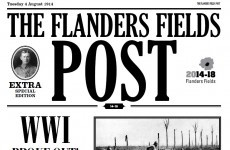 Poignant 1914 newspaper turns Irish clocks back to WWI