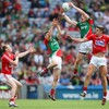 The story of Mayo and Cork's battle in possession, shots, turnovers and kickouts