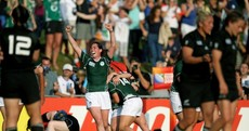 16 images from Ireland's amazing World Cup win over the Black Ferns