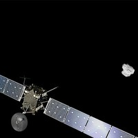 Rosetta spacecraft reaches comet it's been chasing for ten years