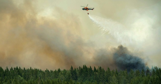 'Worst forest fire in living memory' continues to rage in Sweden