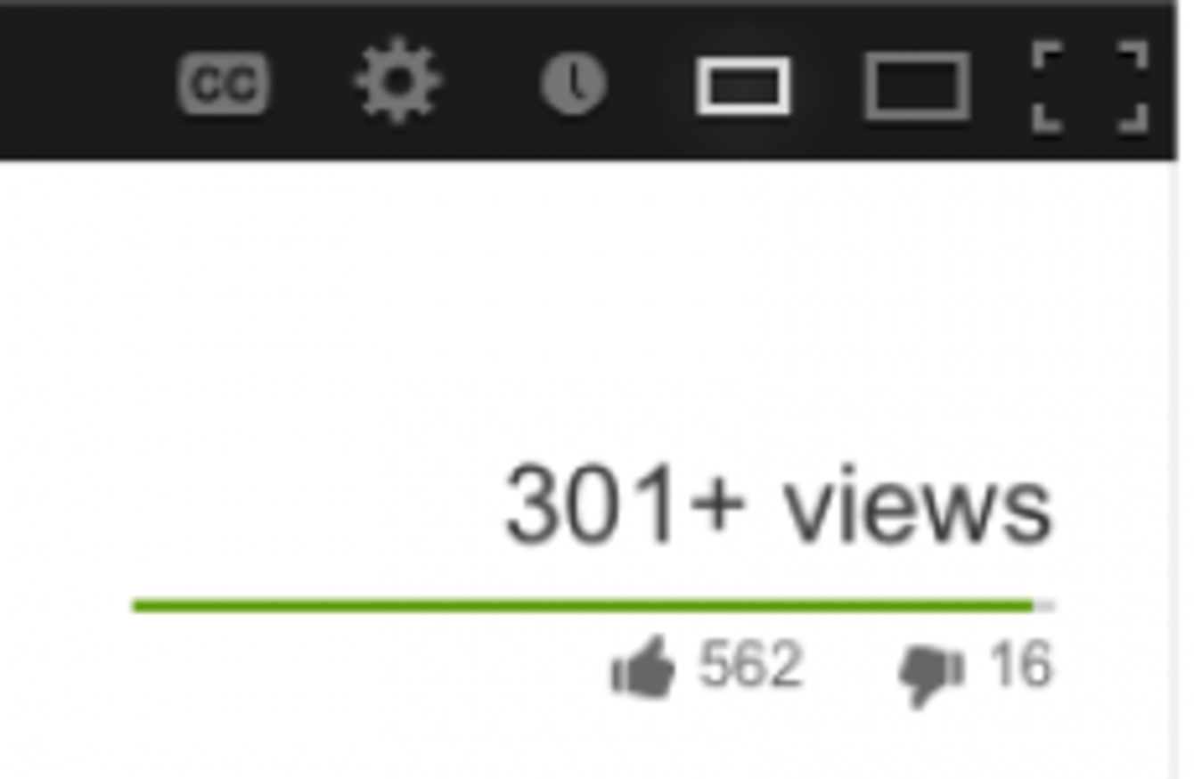 Here\'s why the view count on new YouTube videos always stops at 301