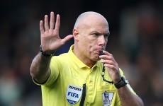 Full-time for Premier League ref Howard Webb