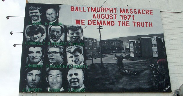 Dublin remembers victims of Ballymurphy Massacre 43 years on