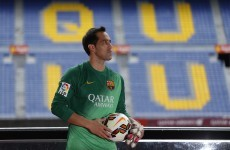 Claudio Bravo had a debut to forget as his howler costs Barca in Napoli friendly