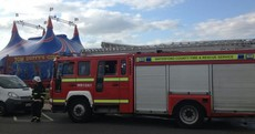 Fire service called out to water sea lions at circus