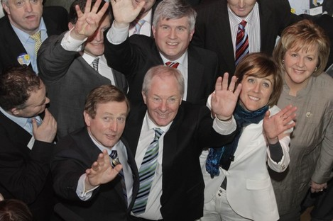 Fine Gael got four TDs elected in Mayo in 2011 including the Taoiseach, John O'Mahony, Michael Ring and Michelle Mulherin.