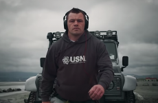 Check out Cian Healy pulling a Jeep in this class new ad