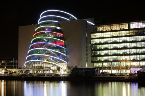 The National Convention Centre at Spencer Dock: Dublin is one of three cities shortlisted to become the World Design Capital for 2014.