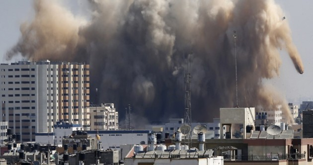 In pics: Talks in tatters as Gaza rocket fire and air strikes resume