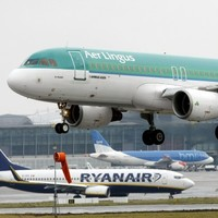 How many flights come in and out of Dublin every day?