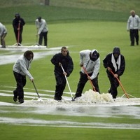 Heavy rainfall causes stoppage to second round of PGA Championship
