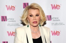 So, why is everyone losing the head with Joan Rivers over Palestine comments?