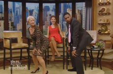 Oh nothing, just Helen Mirren twerking on live TV