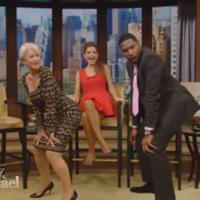Oh nothing, just Helen Mirren twerking on live TV