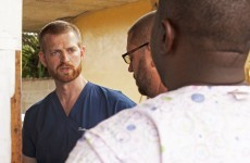US doctor with Ebola releases statement from isolation ward and says he is getting better