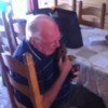 This bereaved grandpa and his new puppy will make you cry hot salty tears