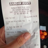 Teenager charged 1p for having to show her ID in the off-licence