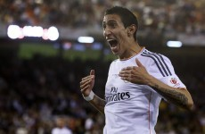 Louis Van Gaal talks up move for Angel Di Maria