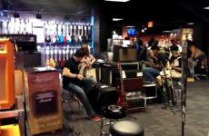 The new guitar centre at Times Square is hell on earth