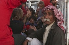 Britain has started airdropping food and water to besieged Yazidi
