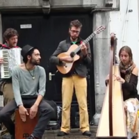 Galway buskers brilliantly cover the Game of Thrones theme