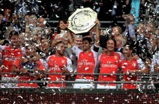 Cazorla, Ramsey and Giroud on target as Gunners bag Community Shield