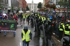 Two injured during anti-internment parade in Belfast