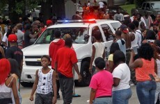 Chaos erupts in Missouri town after police shoot dead unarmed black man