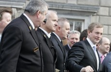 The Leinster House ushers are getting brand new tailored uniforms