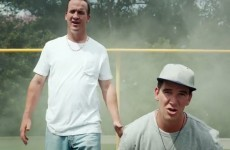 Peyton and Eli Manning are back with another silly rap video