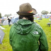 Gallery: Day One at Glastonbury… and it's already a mudbath