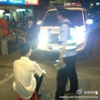 Here is the punishment for not dipping your headlights in one Chinese city
