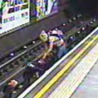 Baby avoids death by seconds after pram gets blown on to London underground