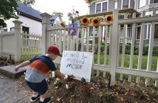 People are leaving tributes to Robin Williams outside the Mork and Mindy house