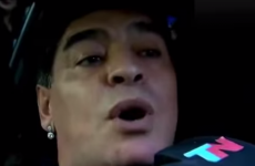 VIDEO: Diego Maradona gets out of his car to slap a journalist