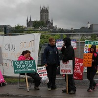 Two arrested during protest against Kilkenny bridge