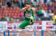 Barr and English impress for Ireland on day one of European Champs