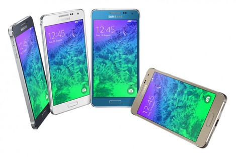The Galaxy Alpha is expected to be released early September although the company didn't say how much it will cost.
