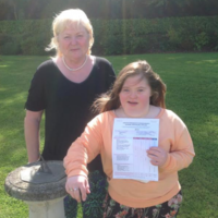 Student with Down syndrome, Eleanor Murray, celebrates 93% Leaving Cert Applied result