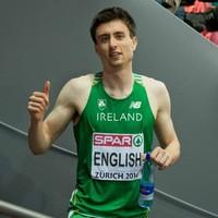 Ireland's Mark English reaches European 800m final