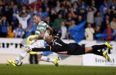 Anthony Stokes on target as Celtic start title defence with win over Saints
