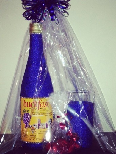 You can now get Buckfast in a glittery bottle, just because