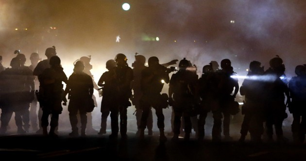 Teen shooting: Tear gas and smoke bombs used on protesters