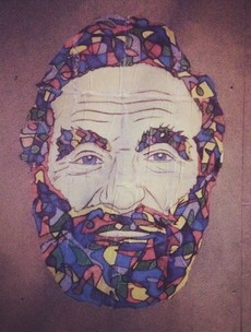 Graffiti tributes to Robin Williams are popping up around Dublin