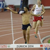 French athlete celebrates shirtless for last 100m of steeplechase, then gets stripped of gold medal too