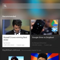 YouTube cleans up its big screen app ahead of Android TV launch